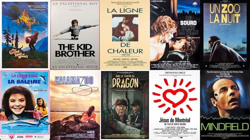 Vingt films de la fin des années 1980 numérisés, restaurés et disponibles