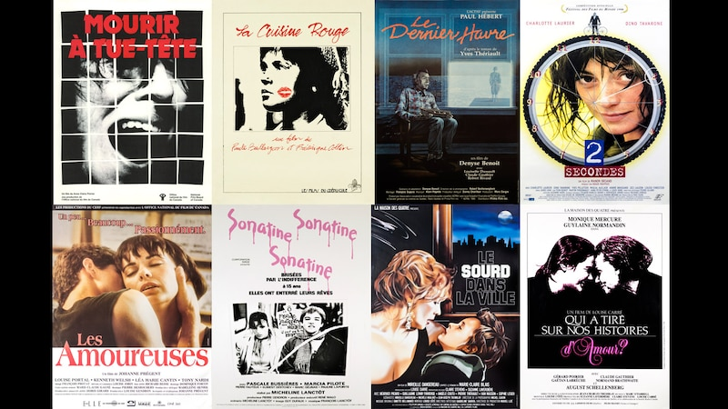 Huit films numérisés, restaurés et disponibles pour souligner le 8 mars