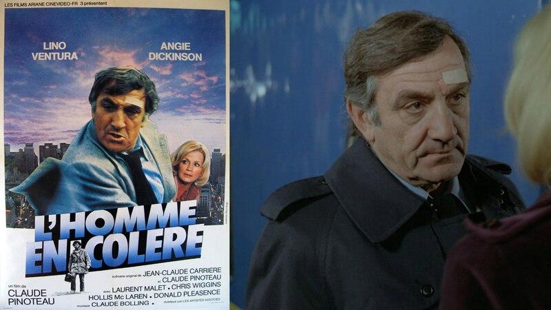 L'homme en colère (1978) de Claude Pinoteau projeté à la Cinémathèque québécoise le 22 mars