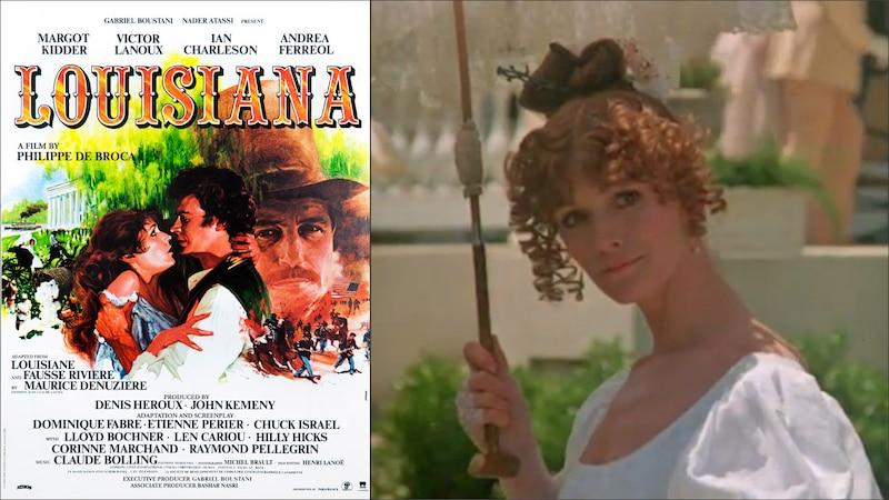 La coproduction Louisiane (1984) présentée à la Cinémathèque québécoise le 26 avril