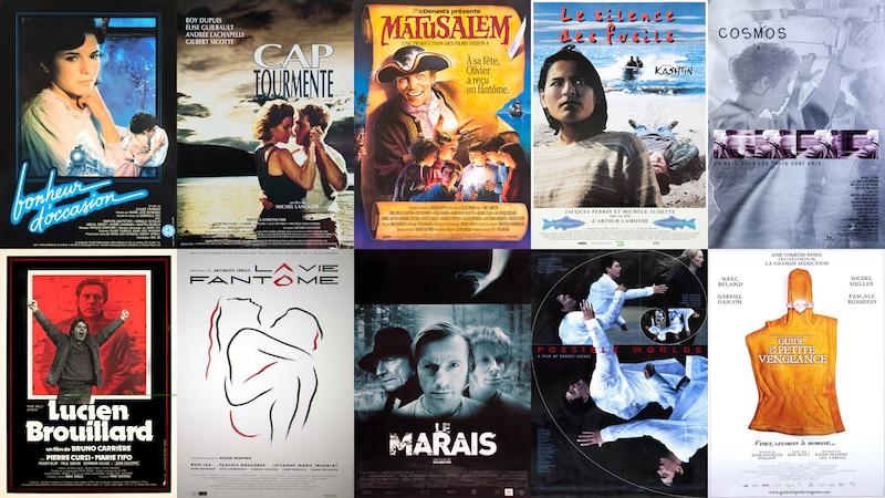 Quelques longs métrages de fiction mettant en vedette Gabriel Gascon
