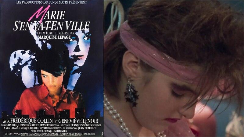 Projection de Marie s'en va-t-en ville à la Cinémathèque québécoise le 5 juillet en présence de Marquise Lepage