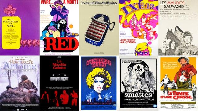 Vingt-et-un films de 1970, 1971 et 1972 numérisés, restaurés et disponibles