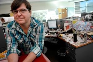 Ricardo Baca, du Denver Post, reconnaît qu'il détient «le meilleur job dans le monde du journalisme». Son poste est une première dans l'univers des médias aux États-Unis.
