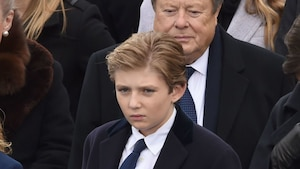 Barron Trump ébranlé par une photo de son père