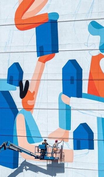 Image principale de l'article 8 photos de la nouvelle murale de Cécile Gariépy