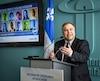 Le ministre de l'Éducation Sébastien Proulx
