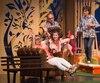 Claude Prégent, Marcel Leboeuf, Sonia Cordeau et Pierrette Robitaille jouent dans la pièce Sylvia.