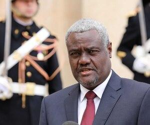Le président de la Commission de l'UA Moussa Faki.