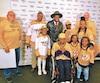 Junior, ses parents et ses soeurs ont eu la chance de rencontrer P.K. Subban