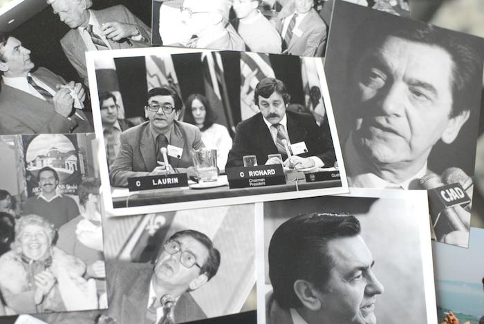 Feu le docteur Camille Laurin, père politique et ministre responsable de l'adoption de la Charte de la langue française en 1977. Un des hommes politiques québécois les plus injustement vilipendés et insultés dans les médias anglophones.