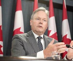 Le gouverneur de la Banque du Canada, Stephen Poloz, a annoncé une première hausse du taux directeur en sept ans.