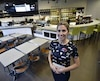 Karine Simard, copropriétaire des Halles de Sainte-Foy, est fière des récents investissements.