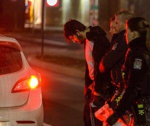 Frédérick Gingras a été intercepté par des agents du Service de police de l'agglomération de Longueuil en fin de soirée.