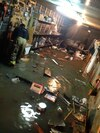 Au plus fort de l'inondation, il y avait plus d'un mètre d'eau dans certains sous-sols.