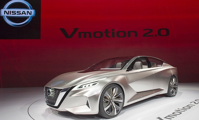 La voiture-concept Nissan Vmotion 2.0.