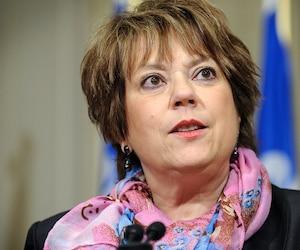 La ministre de l'Enseignement supérieur, Hélène David