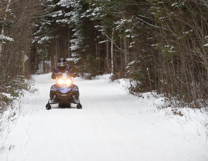 Les amateurs de motoneige pourront profiter de la saison exceptionnelle que leur offre la nature cette saison.