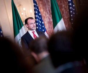 Le ministre des Affaires étrangères mexicain Luis Videgaray