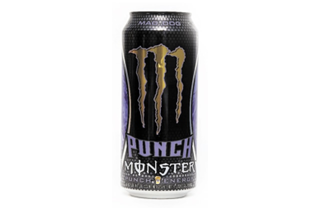 <b>MONSTER ENERGY (Cannette 473ml)</b> <br/> Caféine <b>166 mg</b><br/> Taurine <b>2000 mg</b>