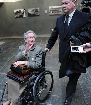 L'interrogatoire subi par l'ex-lieutenante-gouverneure Lise Thibault, le 9 octobre 2008, a été présenté en cour, hier.