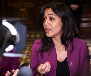 La députée solidaire Ruba Ghazal
