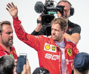 Sebastian Vettel a osé dire que le politiquement correct est en train de corrompre la Formule 1 qu'il aimait tant quand il était enfant.