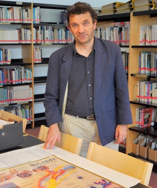 Le professeur André Magord, président du Comité des amitiés acadiennes de la Vienne.