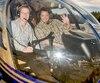 Normand Dubé avec Normand Brathwaite en 2006, en des jours meilleurs.