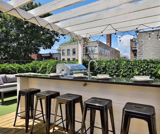 Une maison avec spa et terrasse de rêve à vendre