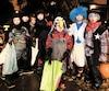 Des superhéros au cowboy, il y avait des costumes de toutes sortes mercredi dans les rues de Québec.