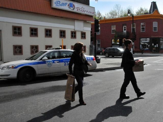Perquisition à Montréal en relation avec les événements qui ont eu lieu hier dans le métro.