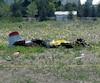 Il ne restait pas grand-chose de la carcasse de l'avion qui s'est écrasé dans un champ à l'est de la piste d'où il venait de décoller, à Saint-Mathieu-de-Beloeil.