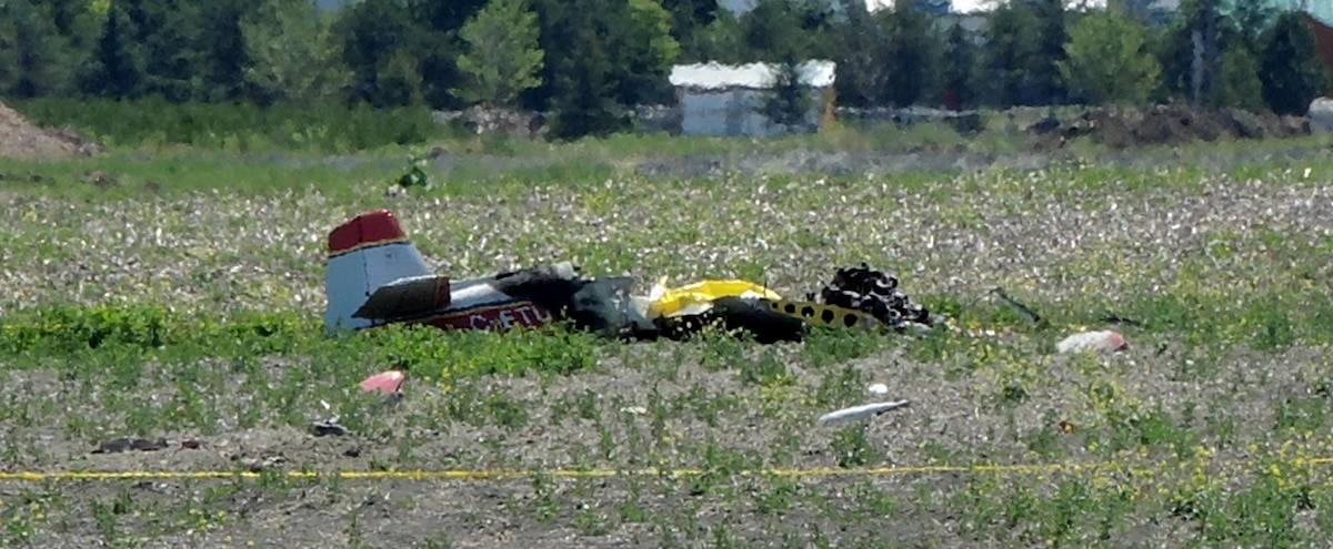 Il se tue au décollage de son avion - Le Journal de Montréal
