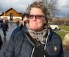 L'ex-présidente des cols bleus, Chantal Racette, ici à la sortie d'une rencontre syndicale à Dorval le 2 décembre 2016.