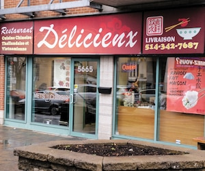 Le restaurant Délicieux situé sur le chemin Côte-des-Neiges a écopé d'une amende de 2300$ en septembre.