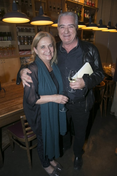 Les journaliste Nathalie Petrowski et Michel Lacombe.