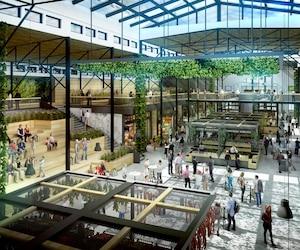 Le futur Grand Marche, qui sera amenage a ExpoCite, sera lumineux, avec un toit de verre, et occupera trois fois plus déespace que le marche du Vieux-Port. Il sera inaugure en 2018. 06 avril 2016 PHOTO COURTOISIE