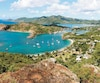 À ne pas manquer, la plus belle vue d'Antigua, du haut de Shirley Heights.