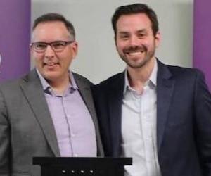 Deux candidats se disputaient la tête du nouveau parti politique québécois, soit Raymond Côté et Raphaël Fortin.