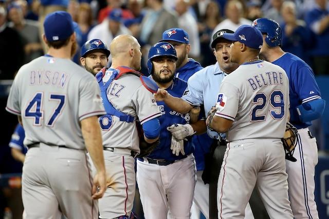 Les Blue Jays de Toronto ont vaincu les Rangers du Texas par la marque de 6-3 et accèdent à la finale de la Ligue américaine.