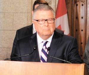 ministre, Sécurité publique du Canada