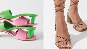 Image principale de l'article 15 chaussures et sandales à talons pas trop hauts