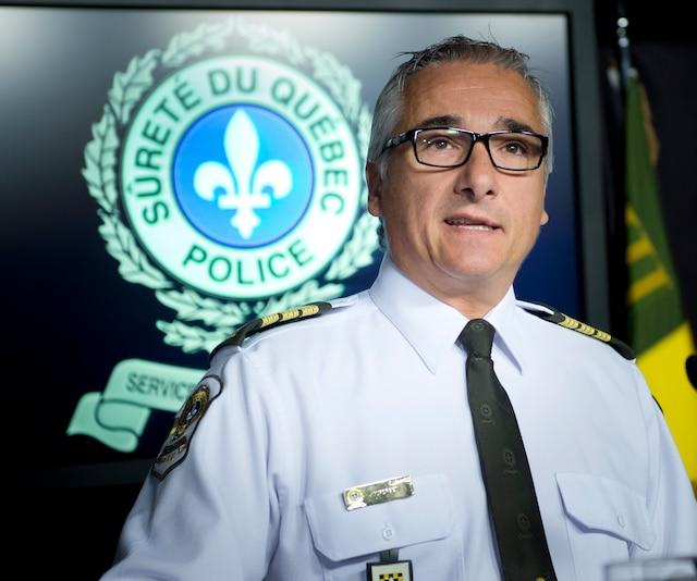 Michel Forget, Inspecteur à la SQ