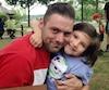 Jérémie Rosconi et sa fille Yaëlle. Le Sherbrookois se bat depuis un an en Suisse pour obtenir la garde de la petite.