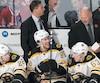 Claude Julien est grandement respecté par les joueurs des Bruins qu'il a dirigés.