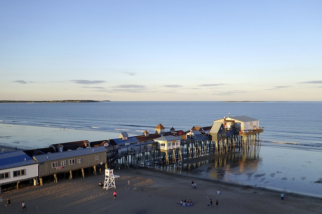 Le Pier, en début de soirée
