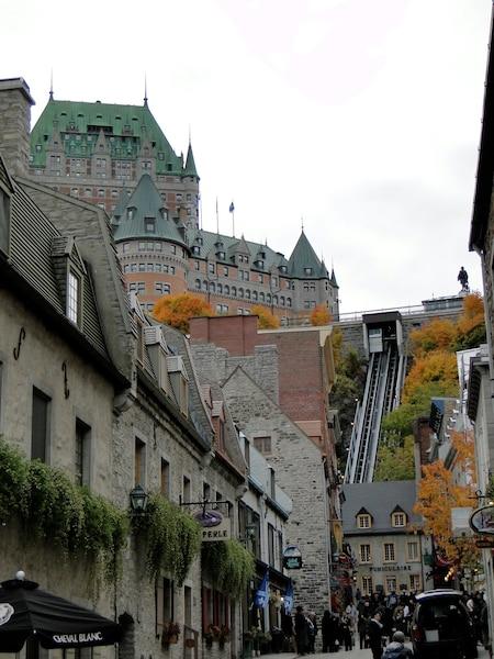 Le funiculaire de Québec