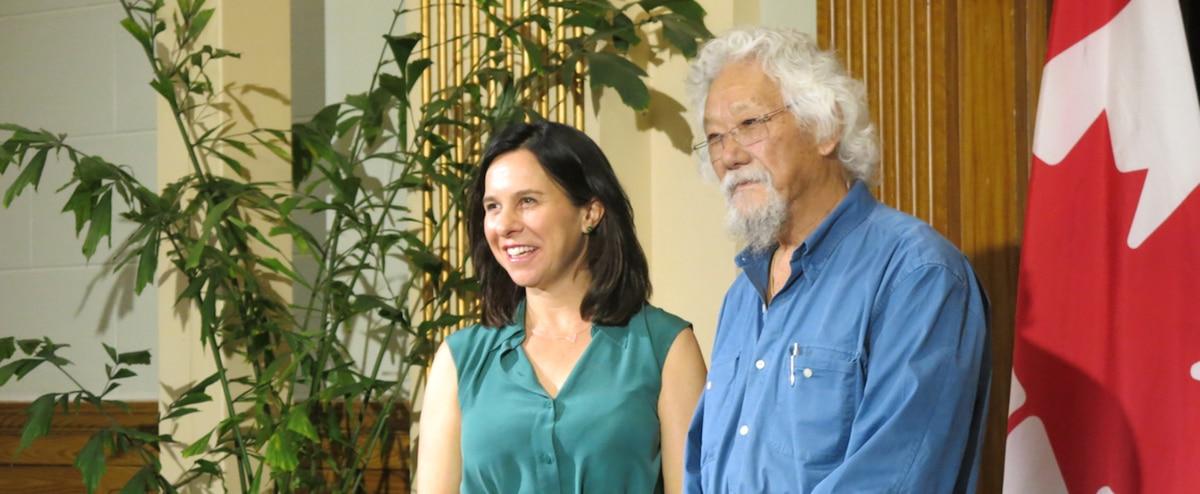 David Suzuki encense Greta Thundberg