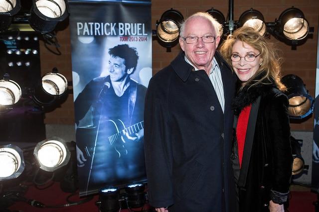 «C'est un chanteur et un acteur en même temps, ça me fascine. Il a une façon extraordinaire de s'exprimer sur scène», a souligné Bernard Landry, accompagné de son épouse Chantal Renaud.
